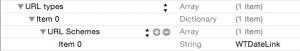 Custom URL scheme info.plist entry